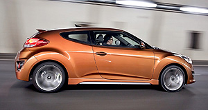 Hyundai  Sporting future: The Veloster Turbo may be followed by models such as the i30 hatch wearing the SR badge.