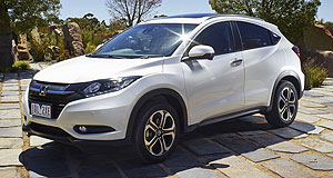 Honda  Crossing over: Honda's popular HR-V (left) could soon have a sibling, but it is unlikely to be the emerging market BR-V (below).