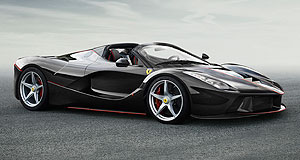 Paris 2016 Italian stallion: The LaFerrari convertible will be revealed at the 2016 Paris motor show.