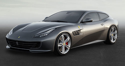 Ferrari 2016 GTC4Lusso Pack horse: Like the FF that it replaces, the GTC4Lusso can carry four adult passengers and a boot full of luggage more than three times faster than the national speed limit.