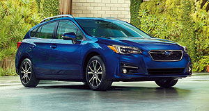 Subaru Impreza Dressed to impress: The new-generation Impreza will give Subaru a shot in the arm, but further growth come from a wide model portfolio, according to the company's US chief.