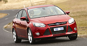 Ford  Small ambitions: A stillborn plan to produce the Focus (pictured) in Australia scuppered Ford's plans to engineer a left-hand drive Falcon for export markets.