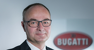 Engineer to 'shape the future' of Bugatti brand