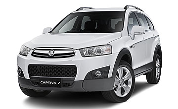 2011 Holden Captiva 7-seat CX Diesel AWD 5-dr wagon Car Review