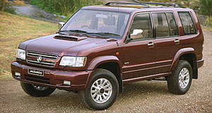 Holden 2012 Jackaroo Not forgotten: Holden's Jackaroo might make a comeback on the new Colorado platform.