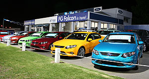 Ford  Confidence up: Ford dealers have been receiving visits from Ford Australia president Marin Burela on a morale-boosting tour.