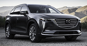 Mazda 2016 CX-9 9 lives: Mazda's all-new CX-9 will feature the i-Activ all-wheel-drive system on some variants when it arrives about mid-year.
