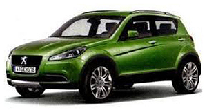 Peugeot 2012 4008 Sneak peek: Peugeot is set to release a Mitsubishi ASX-based, sub-compact SUV called the 4008.