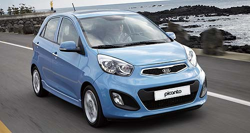 Kia 2012 Picanto Kia time: New Picanto marks the beginning of a wave of new models from the Korean manufacturer.