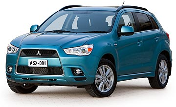 2010 Mitsubishi ASX Aspire 2.0 AWD CVT Car Review