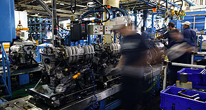 Ford  Still going: Ford's Geelong engine plant will continue operating into 2010.