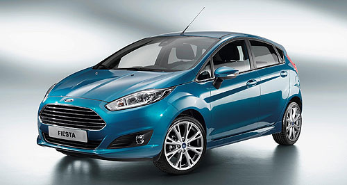 Ford 2013 Fiesta Triple treat: The hi-tech 1.0-litre three-cylinder EcoBoost engine will debut Down Under in Ford's facelifted Fiesta, not the EcoSport SUV as originally planned.