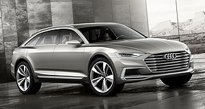 Shanghai 2015 All-rounder: Audi is set to debut its Prologue Allroad during the Shanghai show, which will preview its next-generation models.