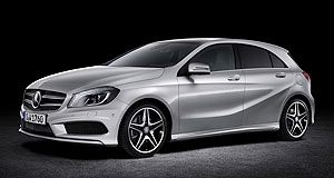 Geneva 2012 A plus: Mercedes-Benz has revealed its sportier new A-class hatch in Geneva.