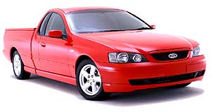 Ford Falcon Ute New look, new price: The BA is significantly updated from AU, but price rises are not dramatic.