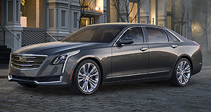Cadillac CT6 Going east: The plug-in hybrid variant of Cadillac's top model, the CT6, will be made in China for North America in a toe-in-the-water exercise for General Motors.