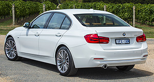 BMW 3 Series 318i sedanThree to tango: The 318i will account for about 15 per cent of overall 3 Series sales, according to BMW Australia.