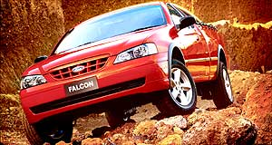 Ford Falcon Rugged Terrain Vehicle: Takes up where regular Falcon Utes leave off.