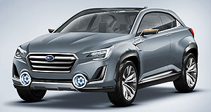 Subaru 2018 SUV Future look: The seven-seat Subaru SUV has not yet been seen, but it could take some styling cues from the Viziv 2 concept.