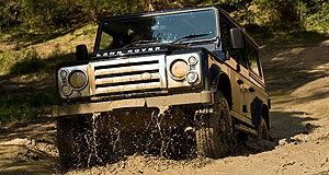 Land Rover Defender SVXUtilitarian: Special Defender variant pushes pricing over the $60,000 mark.