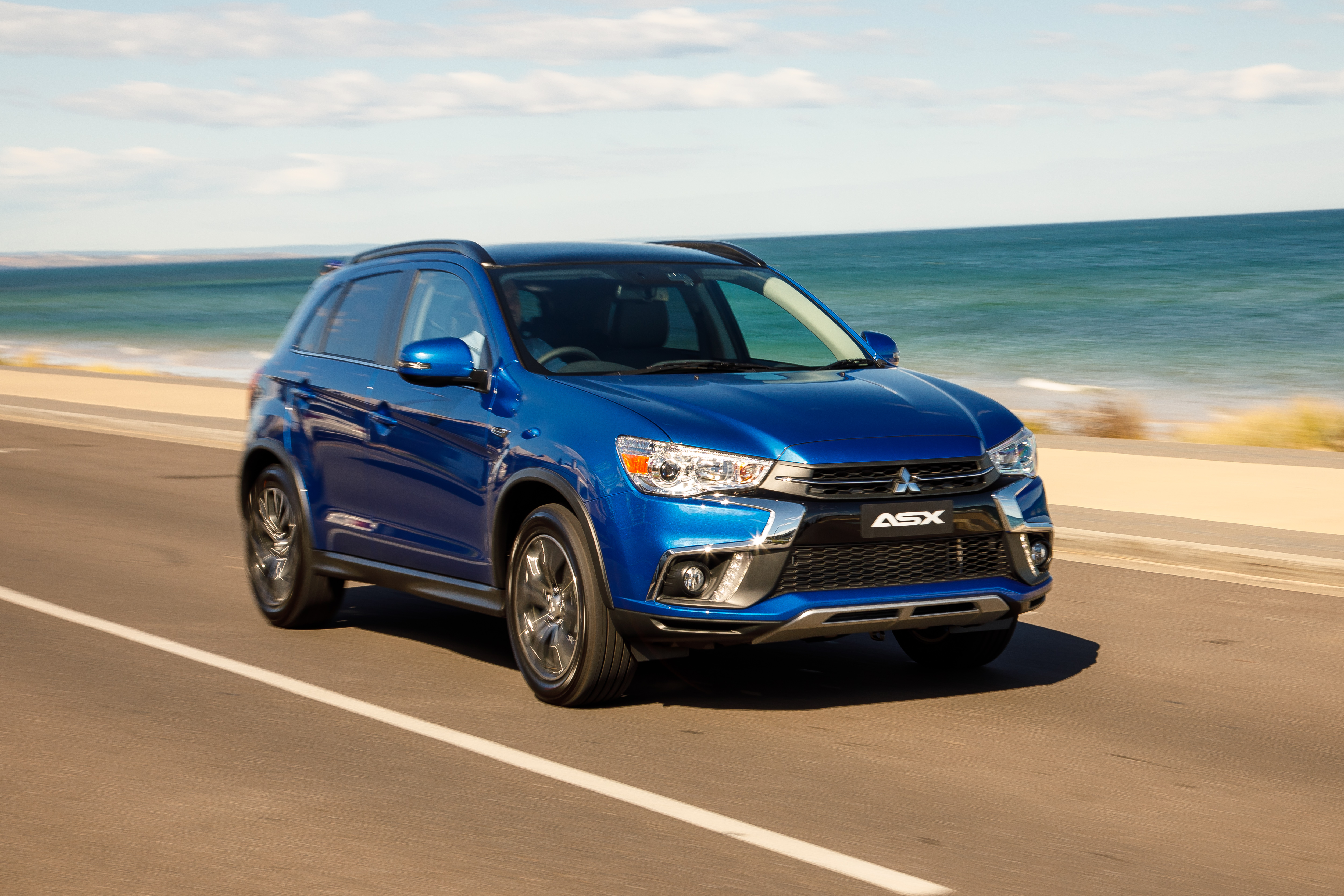 driven mitsubishi updates asx compact suv range goauto. Black Bedroom Furniture Sets. Home Design Ideas