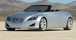Lexus 2012 IS 250 convertibleSee LF-C: This 2004 Lexus concept gives us a clue to the new IS 250 C's styling.