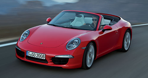 First Local Drive Porsche Expects High Cabrio Take Up Goauto