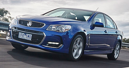 Holden 2017 Commodore - Smooth transition to imported Holden Commodore ...