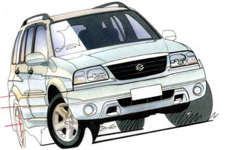 2001 Suzuki Grand Vitara V6 Sports 5-dr wagon Car Review