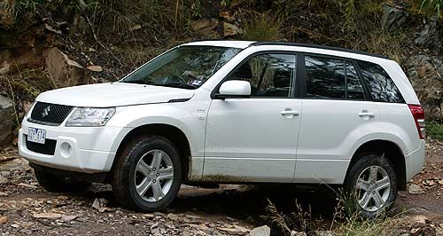 Suzuki 2013 Crossover Grand Vitara: Suzuki is forging ahead with the development of its next-gen Grand Vitara SUV.
