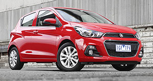 Holden Spark Light Spark: The Holden Spark has dropped its Barina prefix from the previous generation and will roll into showrooms in early April.