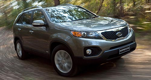 Kia Sorento Technical trickery: Sorento buyers now get more gadgets for their money.