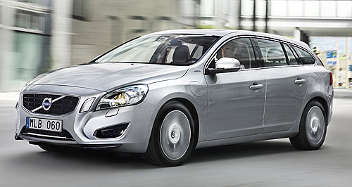 Volvo 2014 V60 Three-in-one: Volvo says its V60 plug-in diesel-electric wagon is part EV, part hybrid and part muscle car.