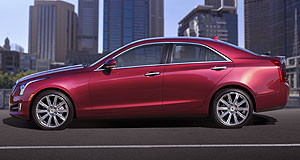 Detroit 2012 Wholesale change: The rear-wheel-drive Cadillac ATS – built on an all-new lightweight vehicle architecture – will go on sale in the US in the third quarter of this year.