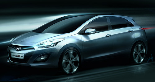 Hyundai 2012 i30 Eyes have it: All-new i30 will replace Hyundai's volume-seller in Australia next year.