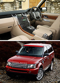 Land RoverRange Rover Sport center image
