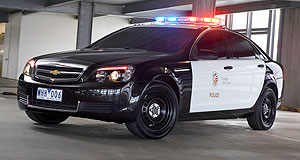 Holden Commodore US-bound: Holden's Chevrolet Caprice patrol car could become a common sight in the US.