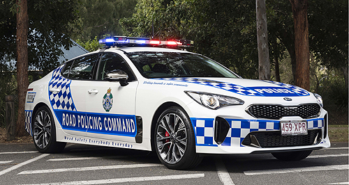Queensland Police locks up Kia Stinger | GoAuto