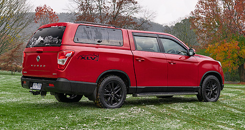 Aussie-tuned SsangYong Musso incoming | GoAuto