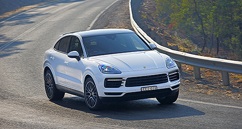 Driven Porsche Goes Coupe With Cayenne Goauto