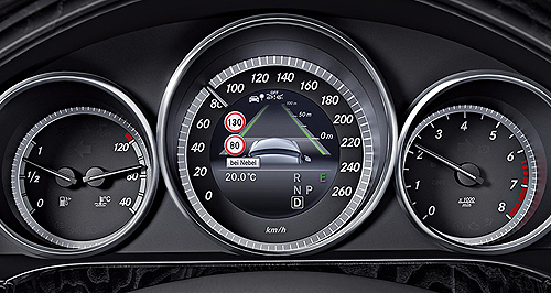 Benz speed recognition tech tripped in Aus | GoAuto
