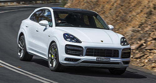 First Drive Top Porsche Cayenne Coupe Thunders In Goauto